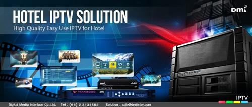 Hotel IPTV รูปแบบการให้บริการโทรทัศน์สัญญาณภาพคมชัด เพื่อยกระดับความพึงพอใจของผู้เข้าพัก ที่โรงแรมทั่วโลกเลือกใช้
