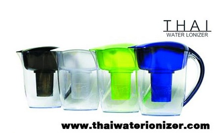 Thaiwaterionizer จำหน่าย เหยือกกรองน้ำด่างหรือเหยือกทำน้ำด่าง ขนาด 3.5L (EHM-WP3)