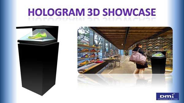 Hologram 3D Showcase อุปกรณ์ส่งเสริมการขายรูปแบบใหม่ สร้างภาพ 3มิติเสมือนจริง ดึงดูดทุกสายตา