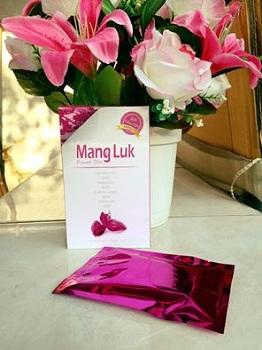 หุ่นเพรียว เป๊ะเวอร์ ด้วย  MangLuk Power Slim กล่องสีชมพู สูตรคอลลาเจน พลัส